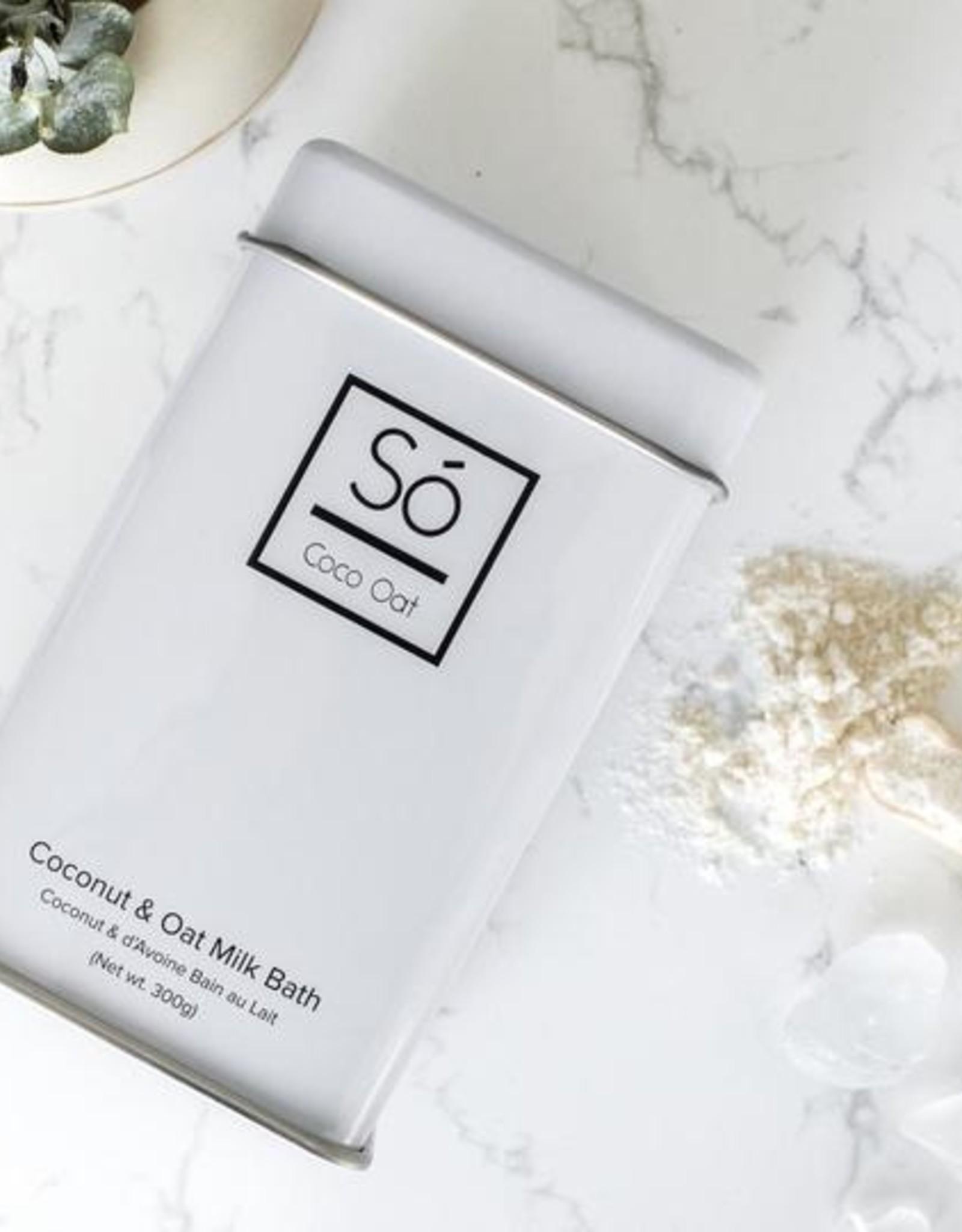 So Luxury Coco Oat Milk Bath -Tin 300g