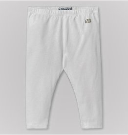 Mayoral Basic White leggings
