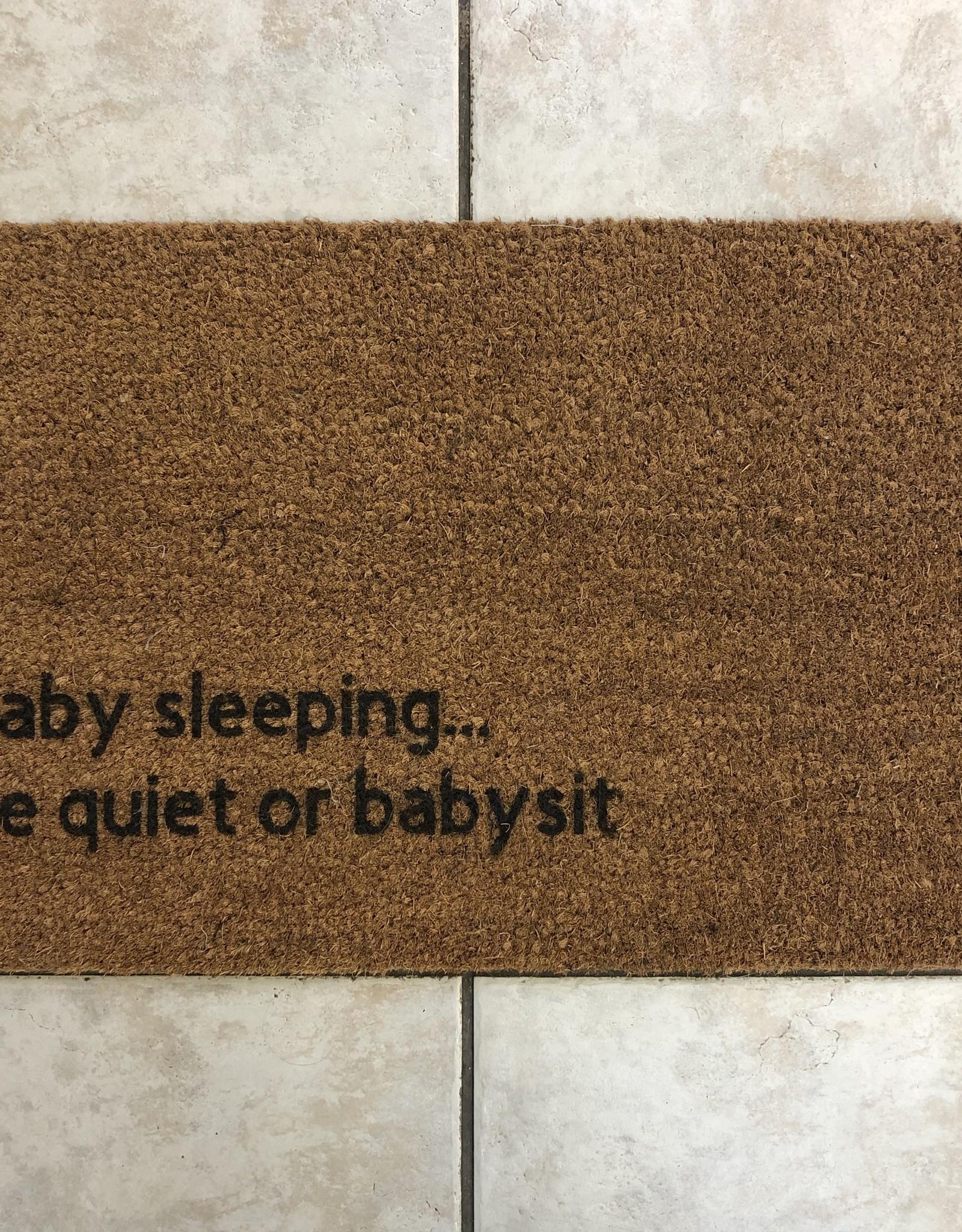 Monkeyfly Baby Sleeping Door Mat