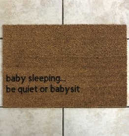 Monkeyfly Baby Sleeping Door Mat