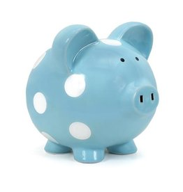 Child To Cherish Large Piggy Bank - Assorted Colors