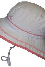 CaliKids Quik Dry UPF 50+ Sun Hat - White