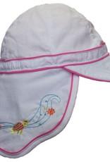 CaliKids Quik Dry UPF 50+ Legionnaire Hat -White