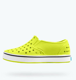 Native Miles Chartreuse Green White