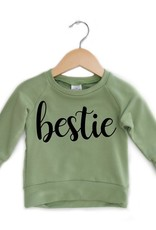 Posh & Cozy Palm Green Bestie Crewneck