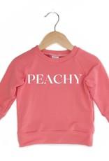 Posh & Cozy P&C Peachy Crewneck