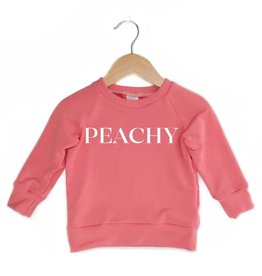 Posh & Cozy P&C Peachy Crewneck