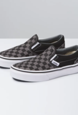 Vans Classic slip on Checkerboard Black Pewter