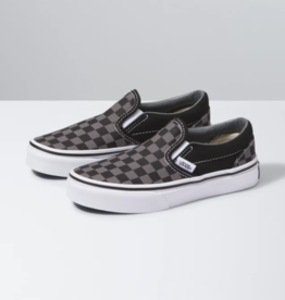 Vans Classic slip on Checkerboard Black Pewter