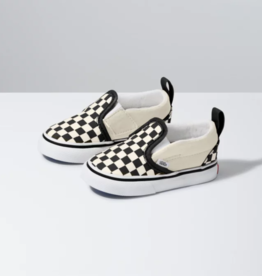 Vans Toddler Asher Checkerboard Slip On blk/wht