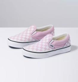 Vans Vans Classic Slip On  Checkerboard Pink/White