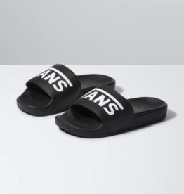Vans Slides Black Logo