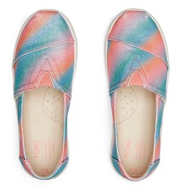 TOMS TOMS Multi Gradient Glitter Youth Classic