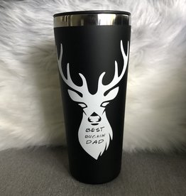 Best Buckin Dad Roadie 22 oz S/S  Tumbler
