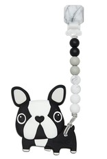LouLou Lollipop Boston Terrier Teether Set
