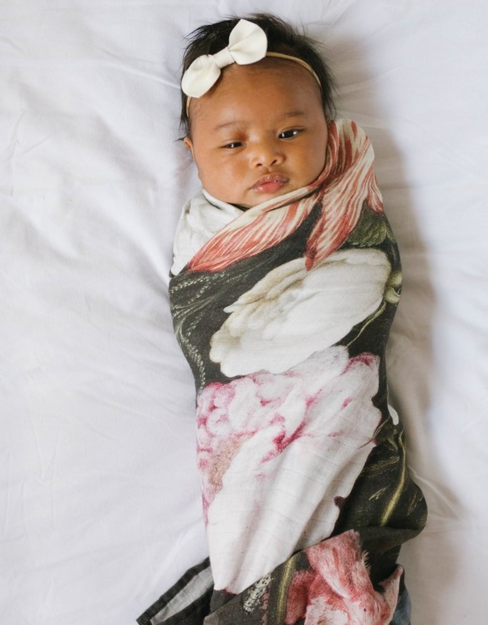 LouLou Lollipop Single Swaddle - Tuscan Floral