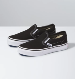 Vans Kids Classic Slip On -  Black