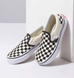 Vans Kids Classic Slip On - Blk/Wht Checkerboard