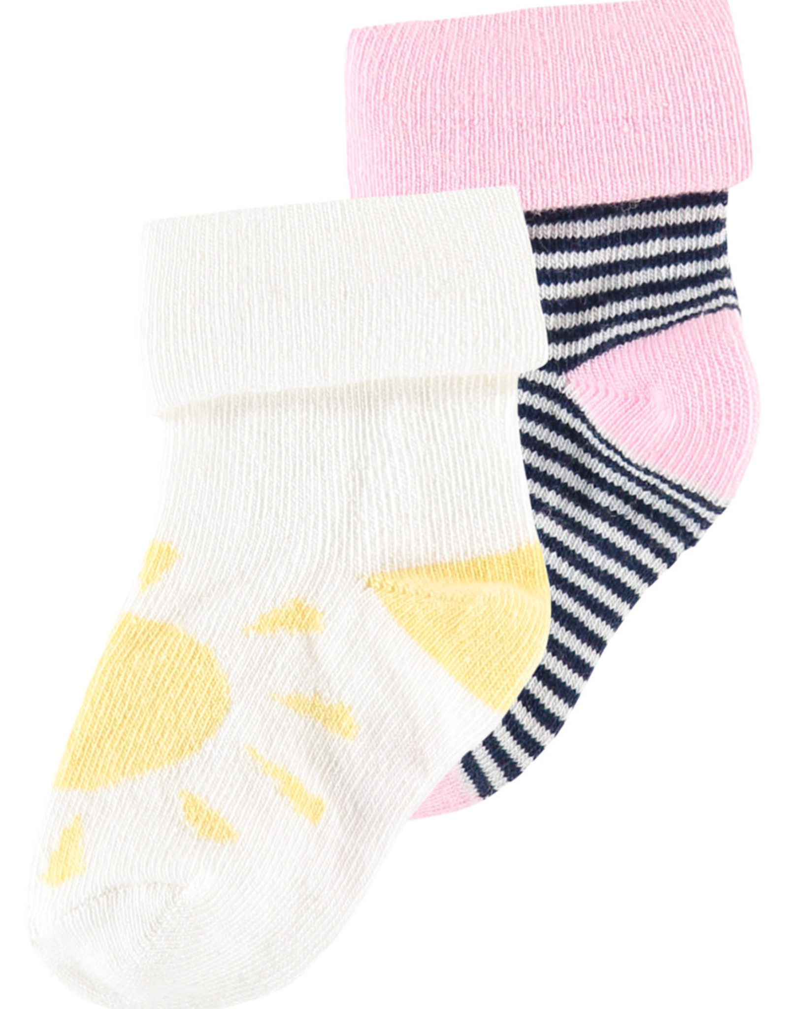Noppies BabyG Pink Stripe Socks