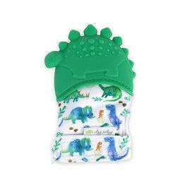 Itzy Ritzy Teething Mitt Dinosaur