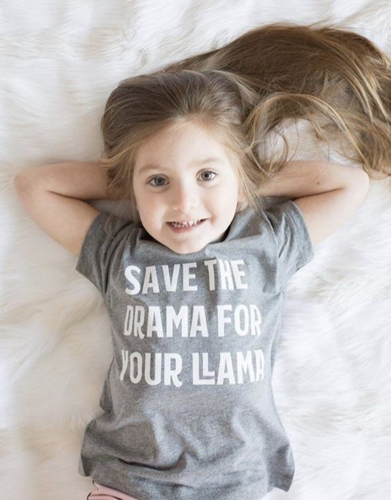 Portage & Main Save The Drama for Your Llama tee