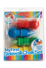 Melissa & Doug My First Sidewalk Chalk Set