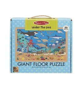 Melissa & Doug Giant Floor Puzzle Under The Sea 35pc