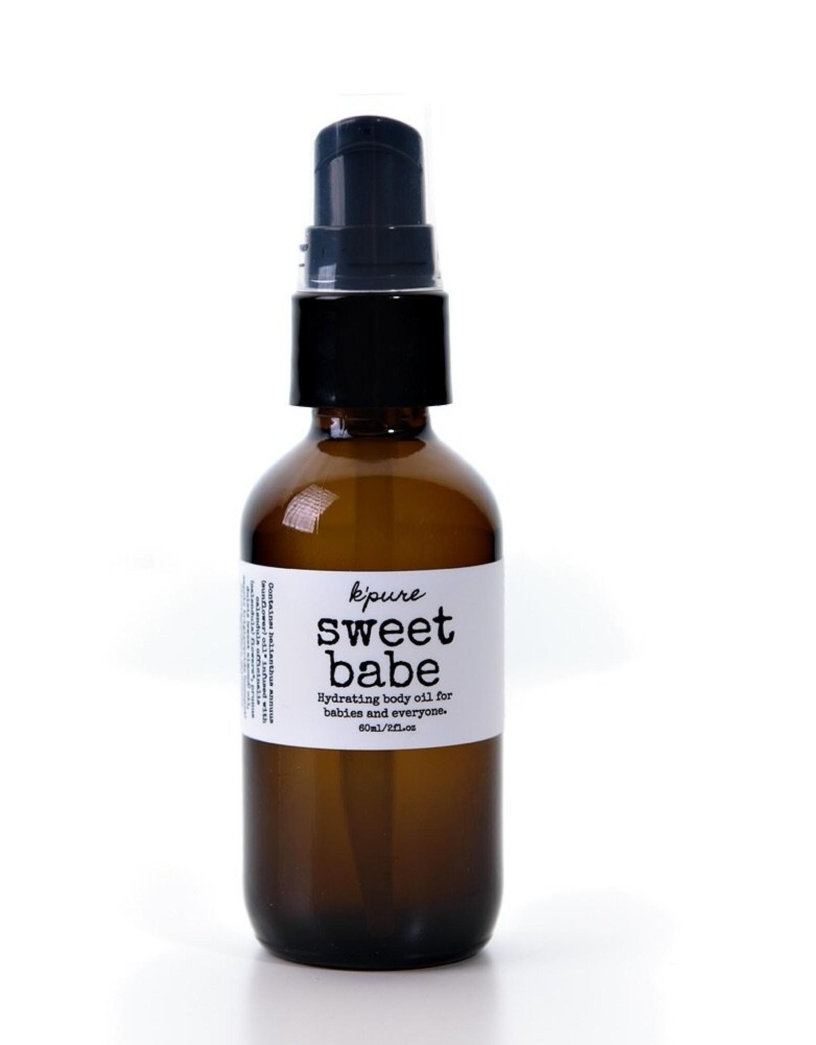 K'Pure Sweet Babe 60ml Body Oil