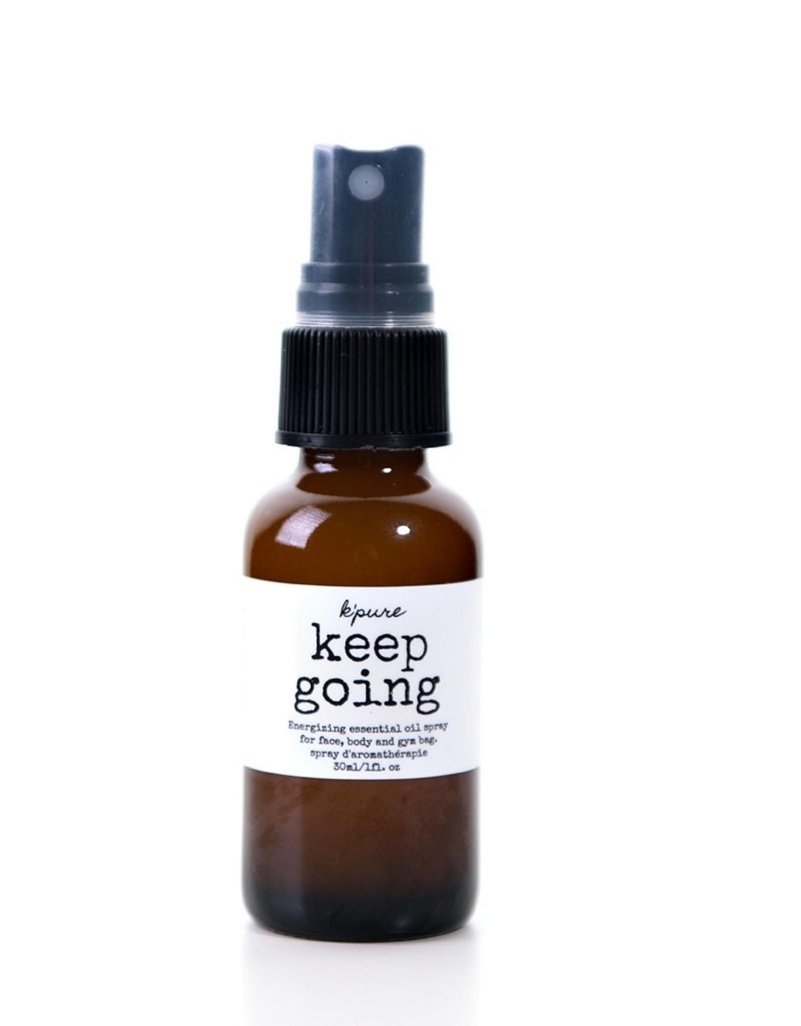 K'Pure Keep Going 30ml Spray