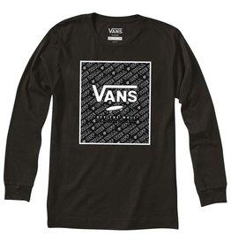 Vans FA20 Yth Print Box  LS Blk/Blk Dimension