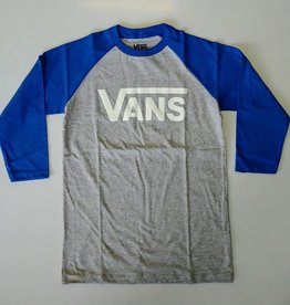 Vans FA20 Yth Classic Raglan Athl Hthr/Vict Blue
