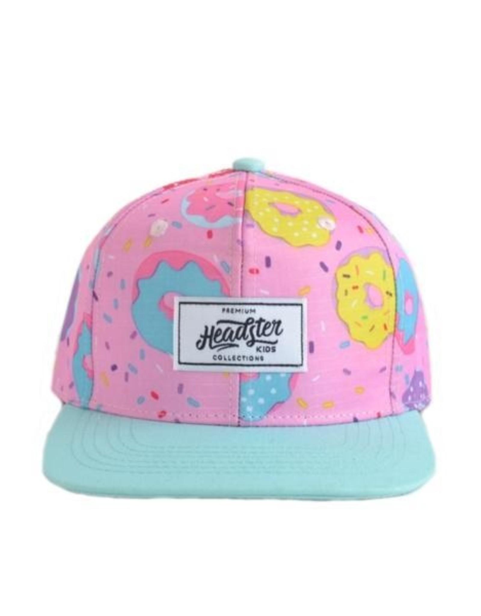 Headster Kids Duh Donut Pink Ball Cap