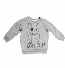 Portage & Main FA20 Frenchie Grey Raglan