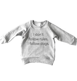 Portage & Main FA20 I Dont Follow Rules Raglan