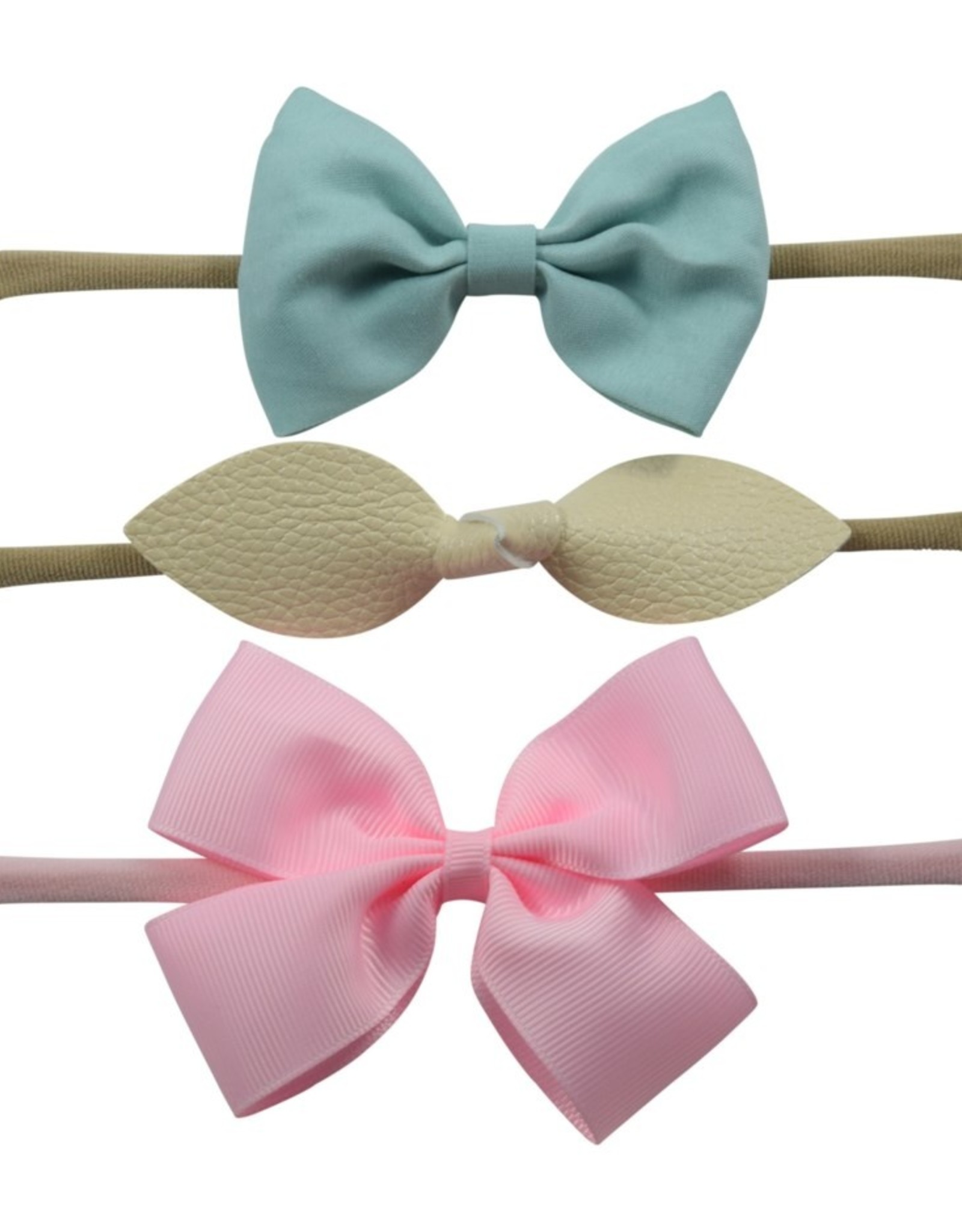 Urban Tyke 3pk Headbands -Assorted Colours