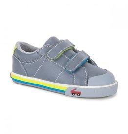 See Kai Run FA20 Waylon Gray Leather