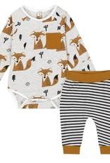 DeuxParDeux BbyB Fox Pant set