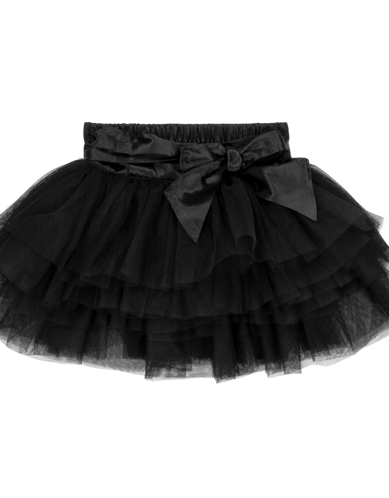 DeuxParDeux FA20 Bby Black Tulle Skirt