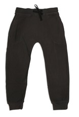 Silkberry FA20 Bby Black Fleece Harem Pant