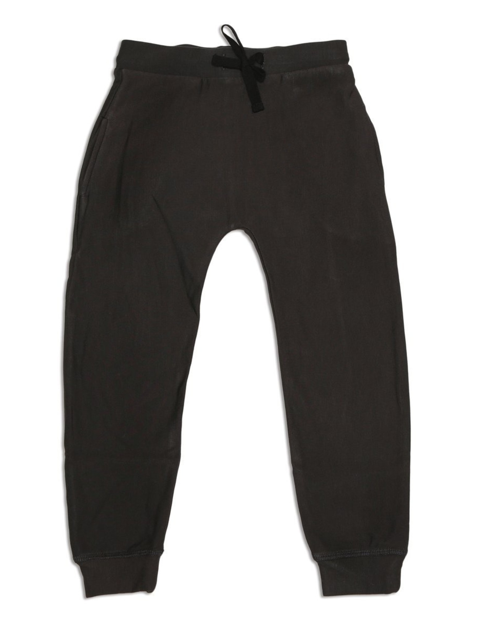 Silkberry FA20 Toddler Black Fleece Harem Pant