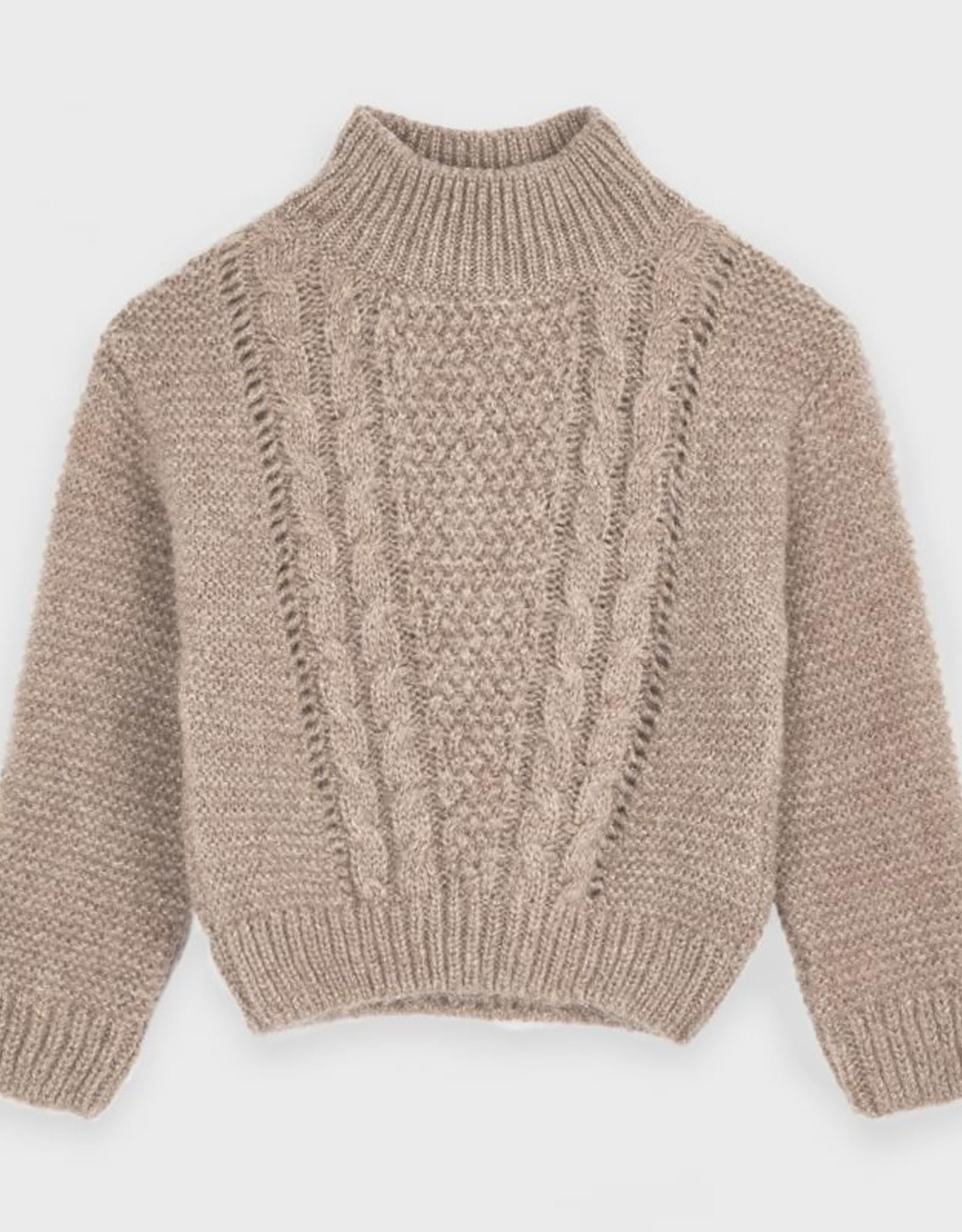 Mayoral FA20 Shiny Gold Sweater
