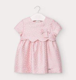 Mayoral FA20 Pink Polka Dot Dress