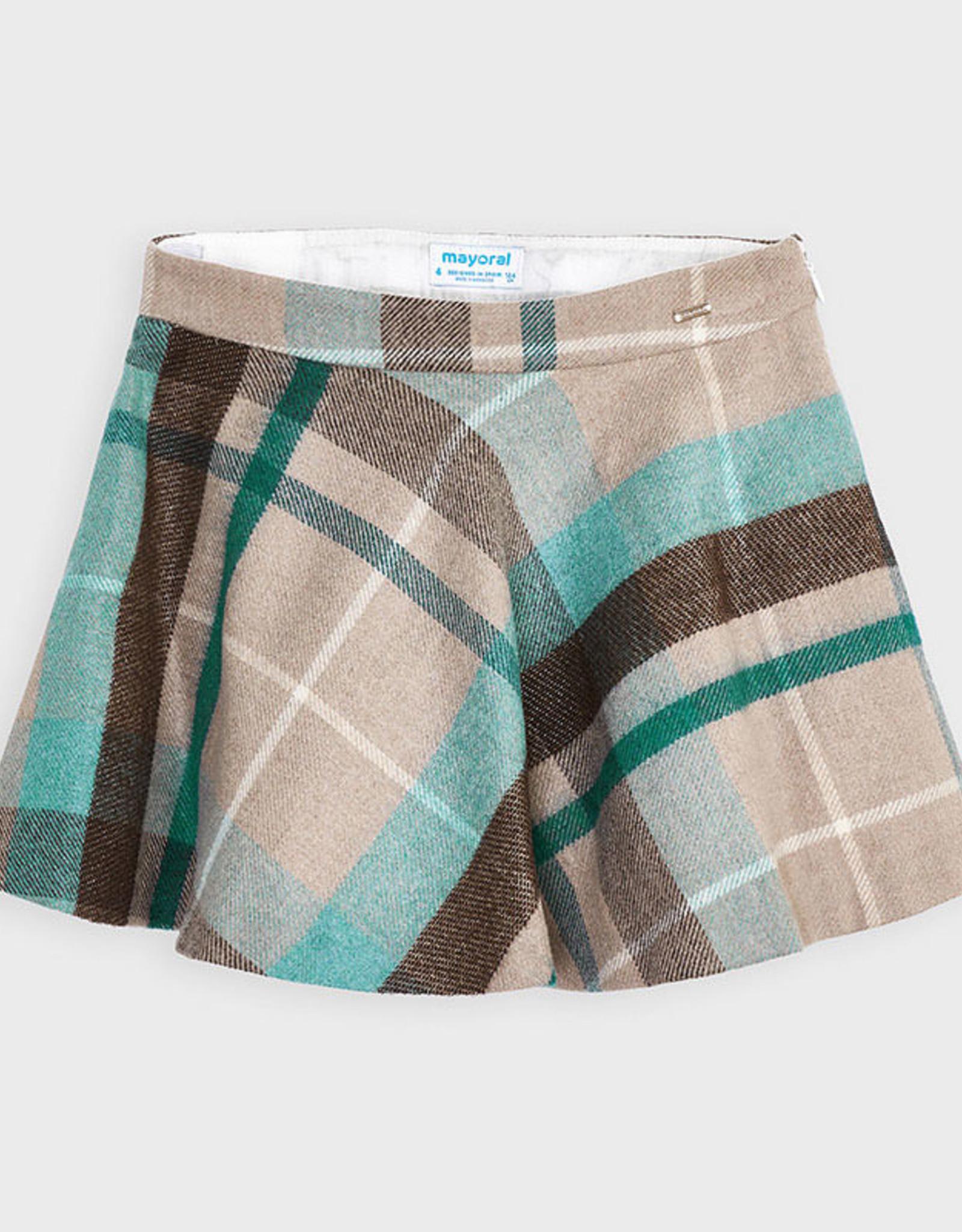 Mayoral FA20 Plaid Skirt