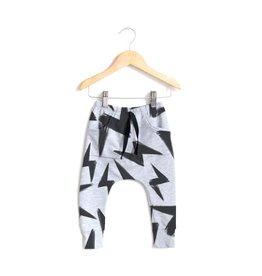 Posh & Cozy FA20 Baby Grey Bolt Joggers