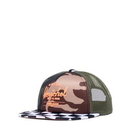 Herschel Supply Co. FA20 Camo Whaler Cap 2-5Y
