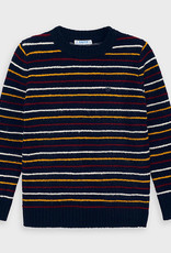 Mayoral FA20 Navy Striped Sweater