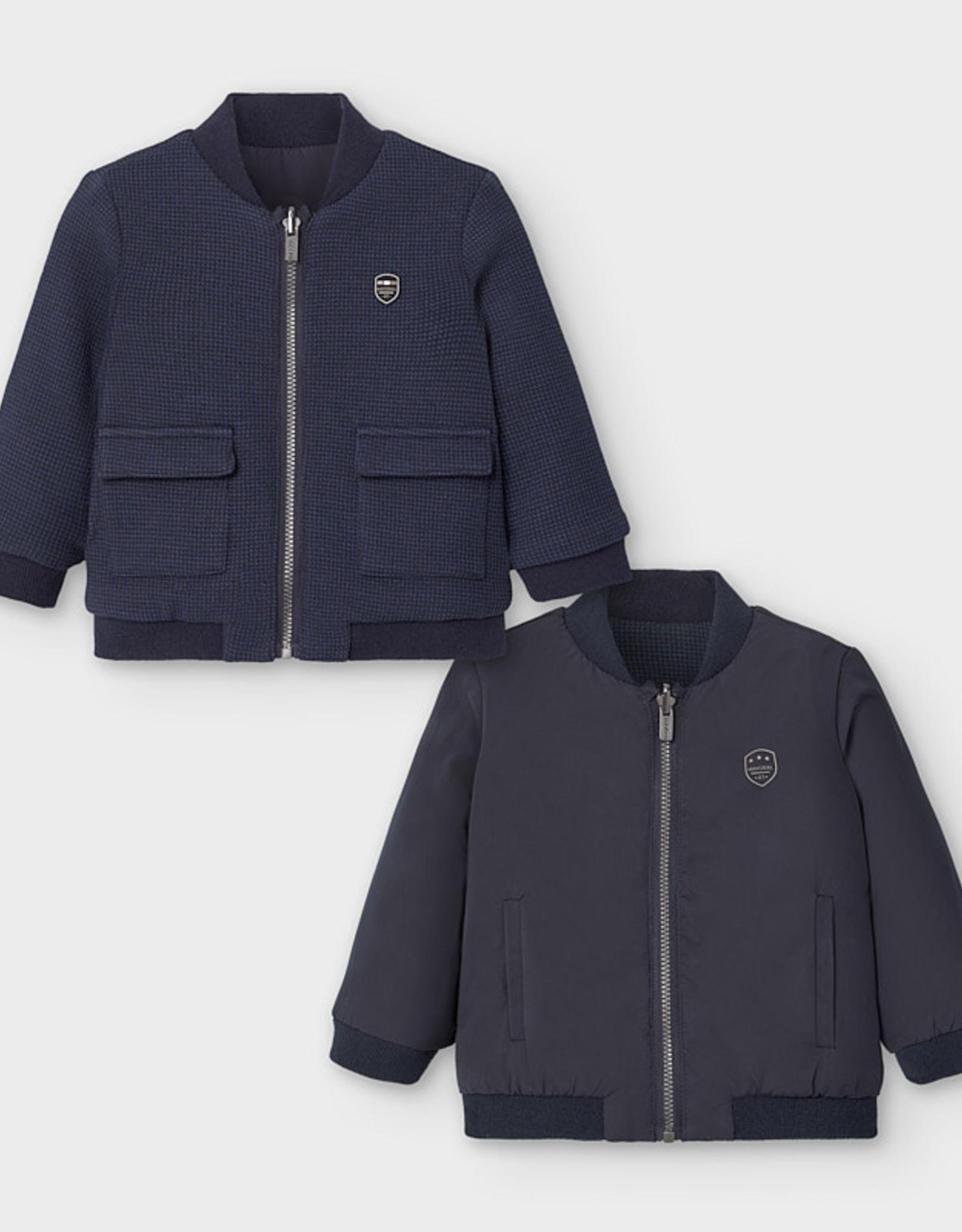 Mayoral FA20 Navy Reversible Jacket