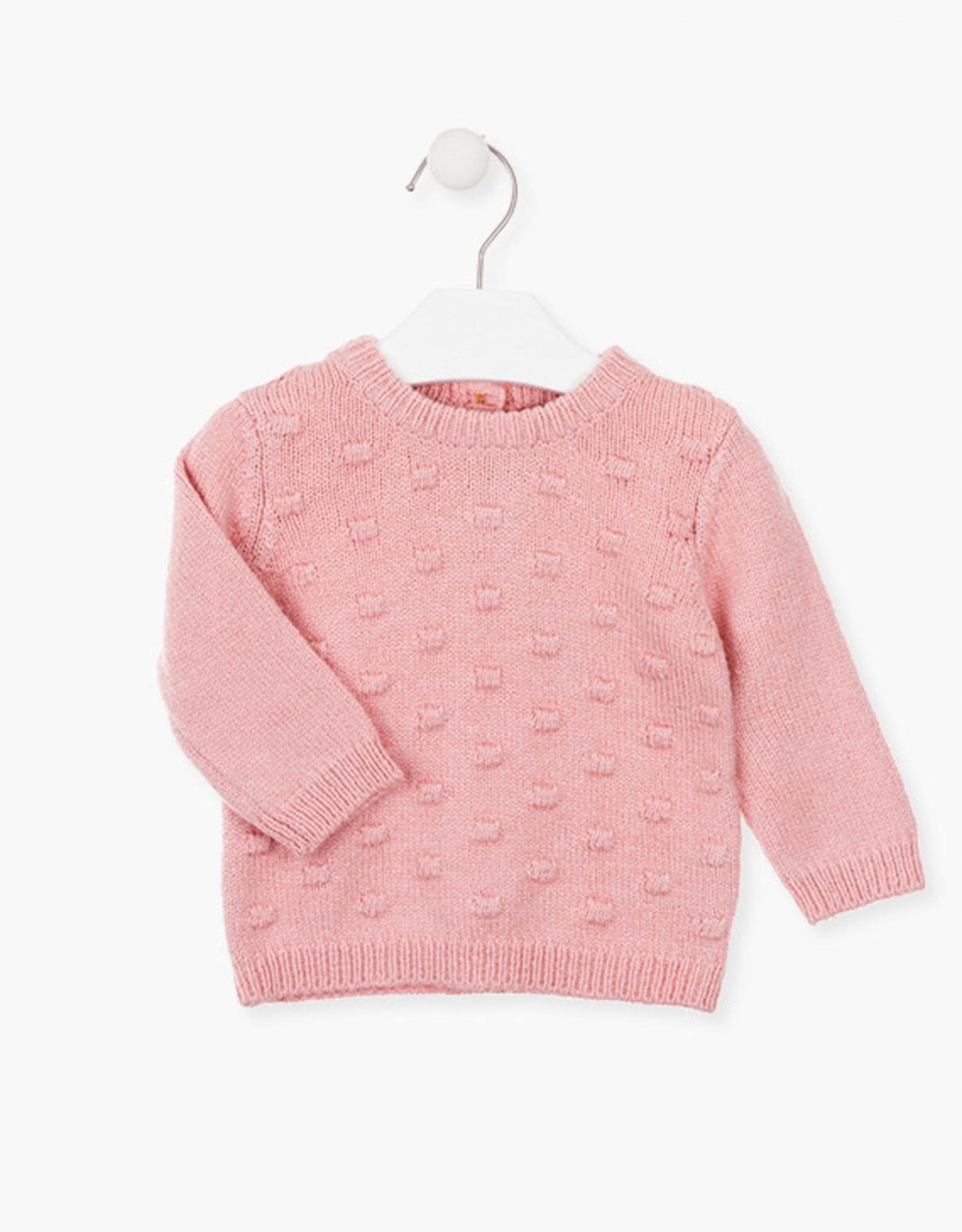 Losan FA20 Baby Sweater -Pink