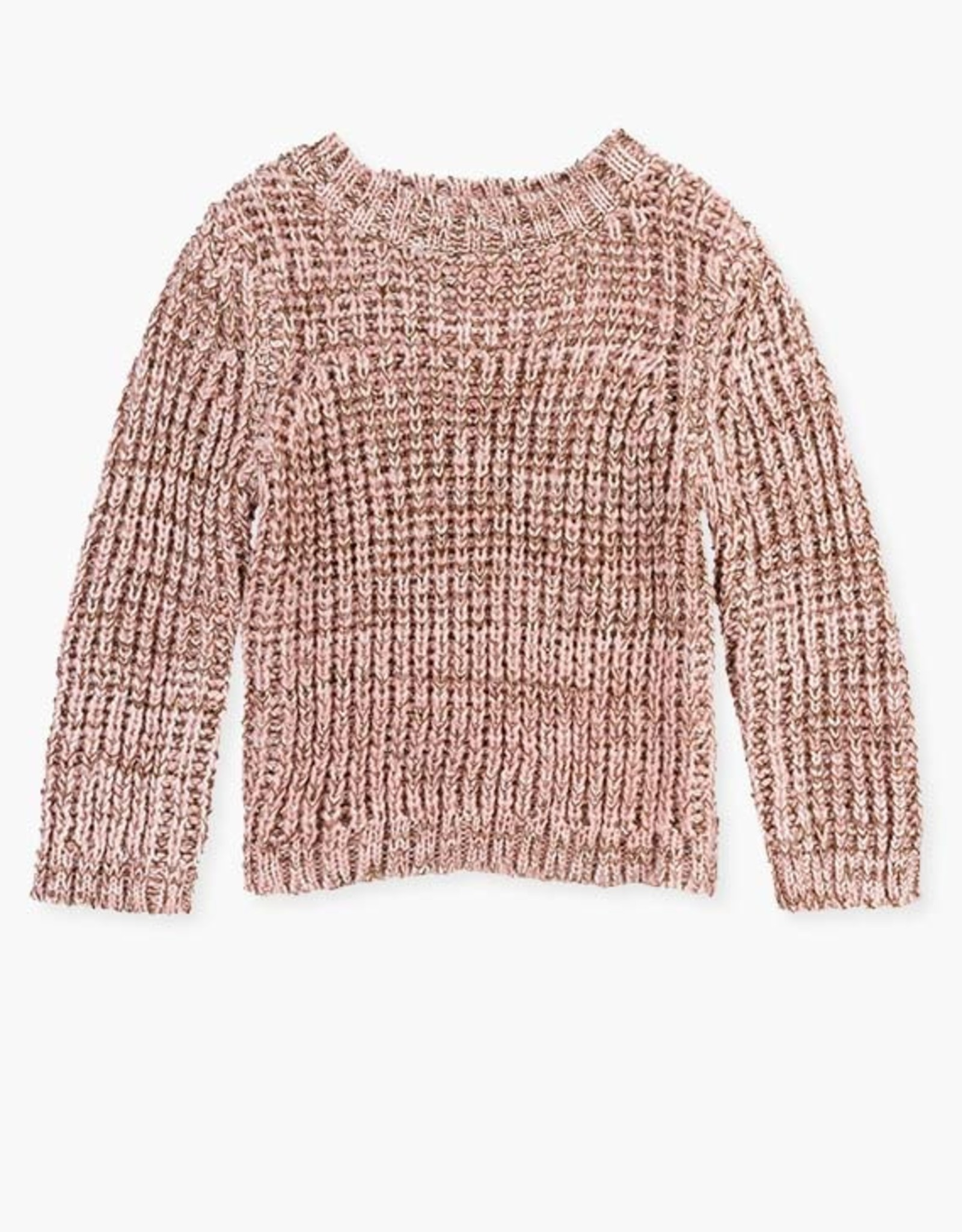 Losan FA20  Knit sweater - pink sparkle