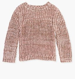 Losan FA20  Knit sweater - pink sparkle